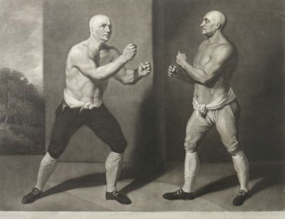 John Young, The set to The Match between John Broughton vs George Stevenson, Grafik